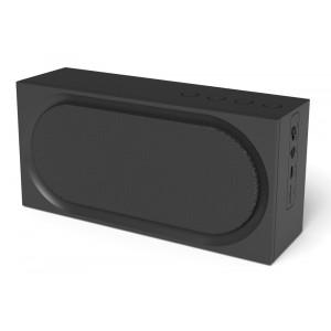 MICROLAB Φορητό ηχείο D19, bluetooth/AUX/SD Card, 3W, 1200mAh, μαύρο D19-BK