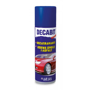 DECABIT Spray Αφαιρεσης πισσας, κολλας, αυτοκολλητων, 250ml DECABIT