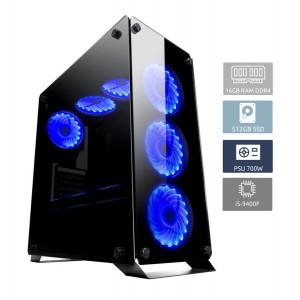POWERTECH PC DMPC-0004, Core i5-9400F, DDR4 16GB, 512GB SSD, GTX 1660 DMPC-0004