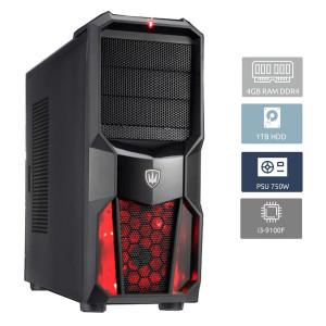 POWERTECH PC DMPC-0006 Core i3-9100F, DDR4 4GB, 1TB HDD, GT 1030, DVD-RW DMPC-0006