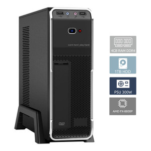 POWERTECH PC DMPC-0008, FX-8800P, DDR4 4GB, 1TB HDD DMPC-0008