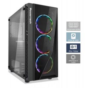 POWERTECH PC DMPC-0009, Ryzen 5 1500X, DDR4 16GB, 256GB SSD, GTX 1650 DMPC-0009