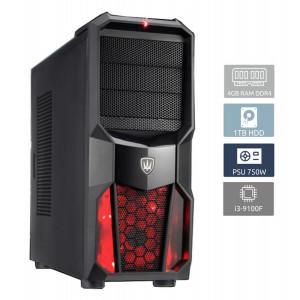 POWERTECH PC DMPC-0011, Core i3-9100F, DDR4 4GB, 1TB HDD, GTX 1650 DMPC-0011