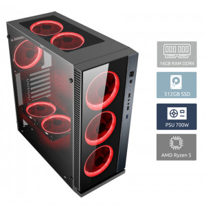 POWERTECH PC DMPC-0016 Ryzen 5 3600, DDR4 16GB, 512GB SSD, RTX 2060 DMPC-0016