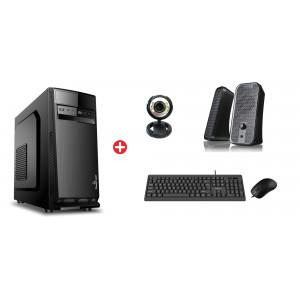 POWERTECH PC DMPC-0028 SSD, DVD-RW, κάμερα, ηχεία, ποντίκι, πληκτρολόγιο DMPC-0028