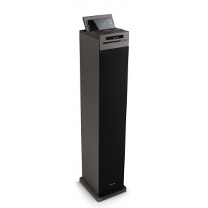 THOMSON Sound Tower DS125iCD 60W LED, bluetooth, wireless charger, μαύρο DS125ICD