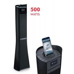 THOMSON Multimedia tower DS500 2.1CH, Bluetooth, CD/NFC/FM, 500W, μαύρο DS500BLACK