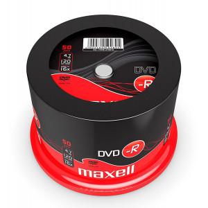 MAXELL DVD-R, 4.7GB/120min, 16x speed, Cake 50 DVD0226