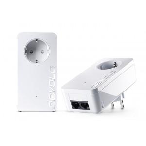 DEVOLO Powerline dLan 1000 duo+ 08117 Starter KIT, 2x adapters, 1000Mbps DVL-08117