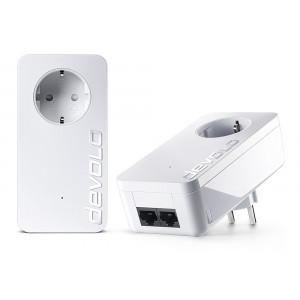 DEVOLO Powerline dLan 550 duo+ 09303 Starter KIT, 2x adapters, 500Mbps DVL-09303
