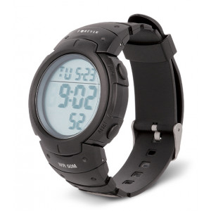 FOREVER Digital Watch DW-200, LCD, Alarm, Counter, Backlight, Black DW-200