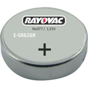 RAYOVAC Μπαταρία Λιθίου για ρολόγια 1,55V, No 377, 10τμχ E-SR626R