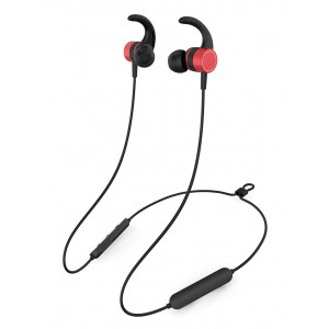 YISON Earphones E17-RD, Bluetooth 5.0, multipoint, με μαγνήτη, κόκκινα E17-RD