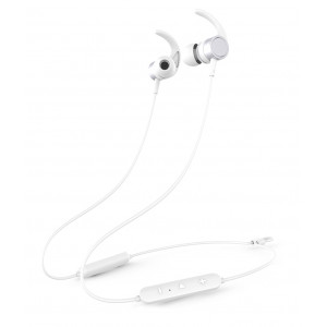 YISON Earphones E17-WH, Bluetooth 5.0, multipoint, με μαγνήτη, λευκά E17-WH