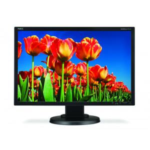 NEC used Οθονη E222W-BK LCD, 22 1680 x 1050, DVI-D/VGA, FQ E222W-BK-FQ