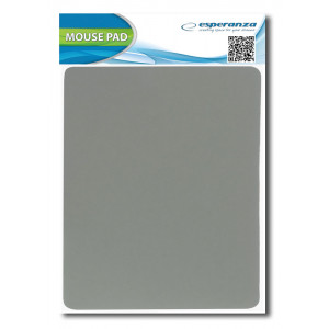 ESPERANZA mouse pad EA145E, 22x18x0.2cm, γκρι EA145E