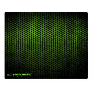 ESPERANZA gaming mouse pad Grunge EA146G, 440x354x4mm, μαύρο-πράσινο EA146G