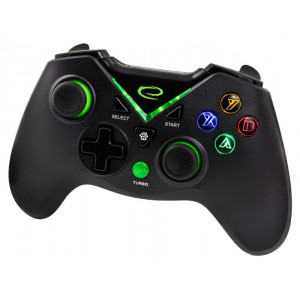 ESPERANZA gamepad GX660, με vibration, PC, PS3, Xbox One, Android EGG111K