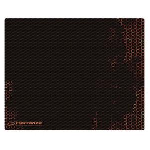 ESPERANZA gaming mouse pad Flame EGP103R, 400x300x3mm, μαύρο-κόκκινο EGP103R