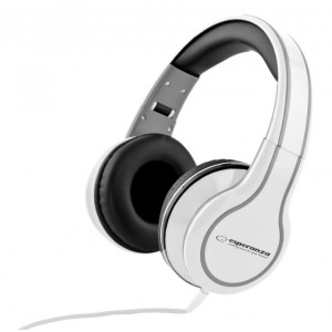 ESPERANZA Headphones Blues EH136W, 3.5mm, 105dB, 5m, λευκά EH136W