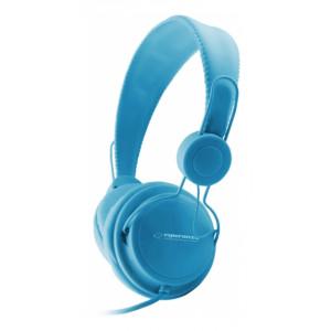 ESPERANZA headphones Sensation EH148B, 3.5mm, 105dB, 3m, μπλε EH148B
