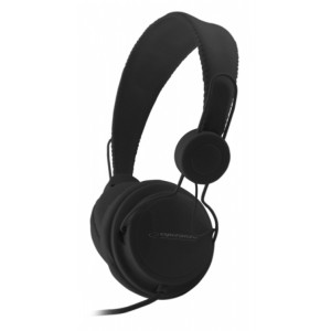 ESPERANZA headphones Sensation EH148K, 3.5mm, 105dB, 3m, μαύρα EH148K