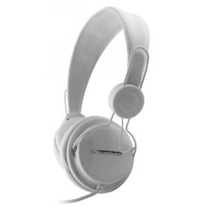 ESPERANZA headphones Sensation EH148W, 3.5mm, 105dB, 3m, λευκά EH148W