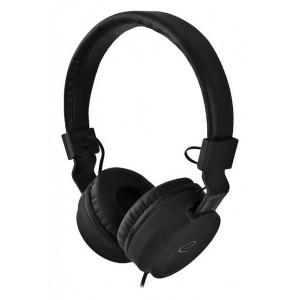 ESPERANZA headphones Bongo EH212K, 3.5mm, 105dB, 1.5m, μαύρα EH212K