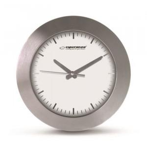 ESPERANZA ρολόι τοίχου Houston EHC011W, λευκό EHC011W