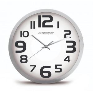 ESPERANZA Ρολόι τοίχου Zurich EHC013W, 25cm, λευκό EHC013W