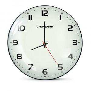 ESPERANZA Ρολόι τοίχου San Francisco EHC018F, 30cm, λευκό EHC018F
