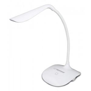 ESPERANZA Φωτιστικό γραφείου Acrux ELD103K, 3W, 14 LED, λευκό ELD103W