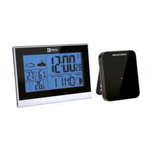EMOS Μετεωρολογικός σταθμός E3070, υγρόμετρο, ημερολόγιο, ρολόι EMS-E3070