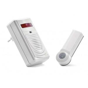 EMOS Ασύρματο κουδούνι εξώπορτας EMS-P5705, IP44, 60m εμβέλεια, λευκό EMS-P5705