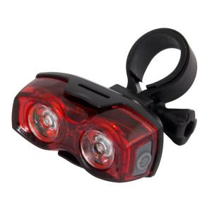 ESPERANZA Οπίσθιος φωτισμός ποδηλάτου Arktur EOT013, 2 LED, μαύρο EOT013