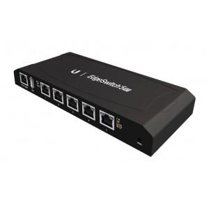 UBIQUITI Edge Switch ES-5XP, 5-Port Gigabit PoE, 24V/2.5A ES-5XP
