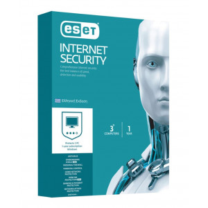 ESET Internet Security 3 Computers, 1 year