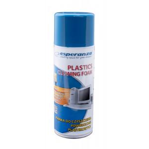 ESPERANZA Αφρός καθαρισμού ES104 για πλαστικές επιφάνειες, 400ml ES104