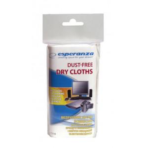 ESPERANZA Στεγνά πανάκια καθαρισμού εξοπλισμού γραφείου ES108, 24τμχ ES108