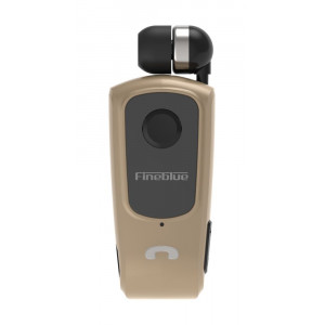 FINEBLUE Bluetooth Headset F920, V4.1 + EDR, Gold F920-GD