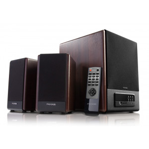MICROLAB ηχεία FC530U, 2.1ch, 30W & 2x 15W, USB/SD Card/FM/AUX, μαύρα FC530U-WD