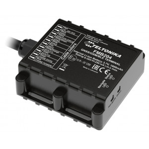 TELTONIKA GPS Tracker αυτοκινήτου FMB204, GSM/GPRS/GNSS, Bluetooth, IP67 FMB204BD9L01