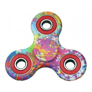 Fidget Spinner FS-003, Plastic, 3 leaves με bearings, painted, 1 minute