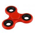 Fidget Spinner FS-005, Plastic, 3 leaves, Red, 1 minute
