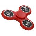 Fidget Spinner FS-008, Plastic, 3 leaves με bearings, Red, 1 minute
