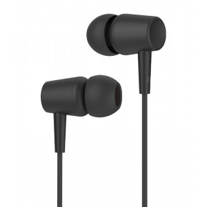 CELEBRAT earphones G13 με μικρόφωνο, 10mm, 1.2m, μαύρο G13-BK