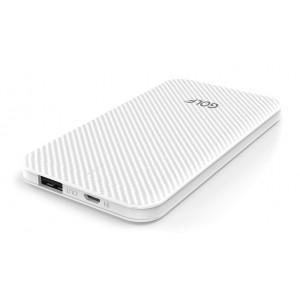GOLF Power bank Phantom G38-WH 5000mAh, 1x USB, Micro input, 1A, λευκό G38-WH