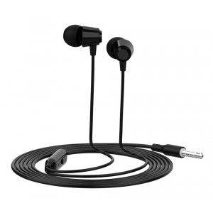YISON Earphones G4 με μικρόφωνο, 10mm, 1.2m, μαύρο G4-BK