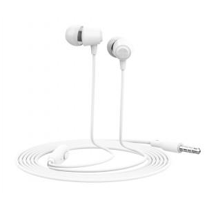 YISON Earphones G4 με μικρόφωνο, 10mm, 1.2m, λευκό G4-WH