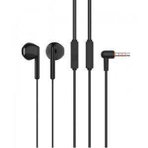 CELEBRAT Earphones G6-BK με μικρόφωνο, 14mm, 3.5mm, 1.2m, μαύρα G6-BK